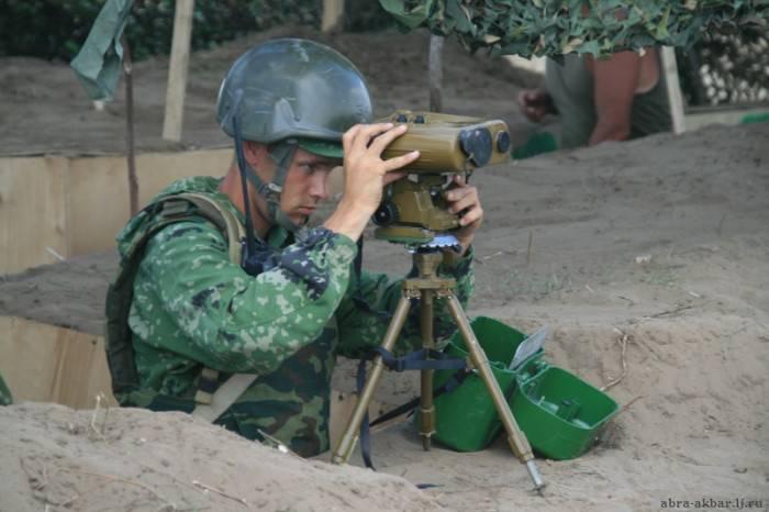 Militaire en Tchétchénie