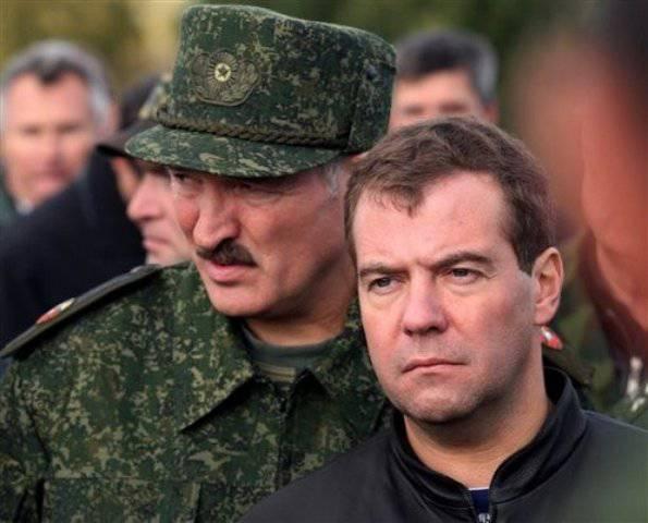 白俄罗斯 - 俄罗斯:联盟的生锈盾牌