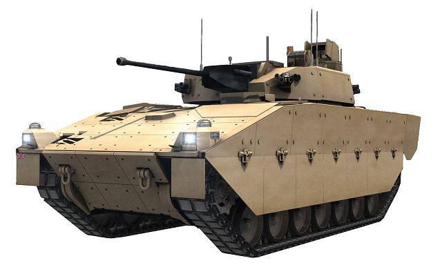 New combat reconnaissance vehicles of Britain