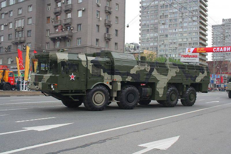 RF可以将伊斯坎德尔-M导弹系统放置在阿布哈兹和南奥塞梯