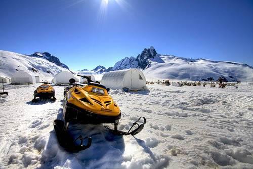 Канадские военные заказали разработку снегохода-стелс для проведения специальных операций