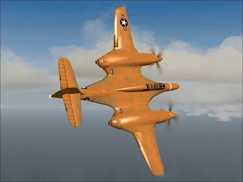McDonnell HP-67. Batman için savaşçı. Amerika Birleşik Devletleri 1941g.