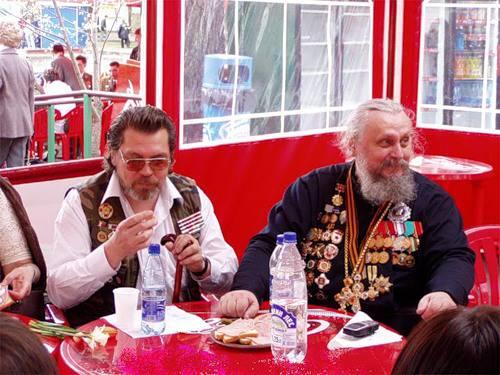 Войсковой священник отец Киприан-Пересвет