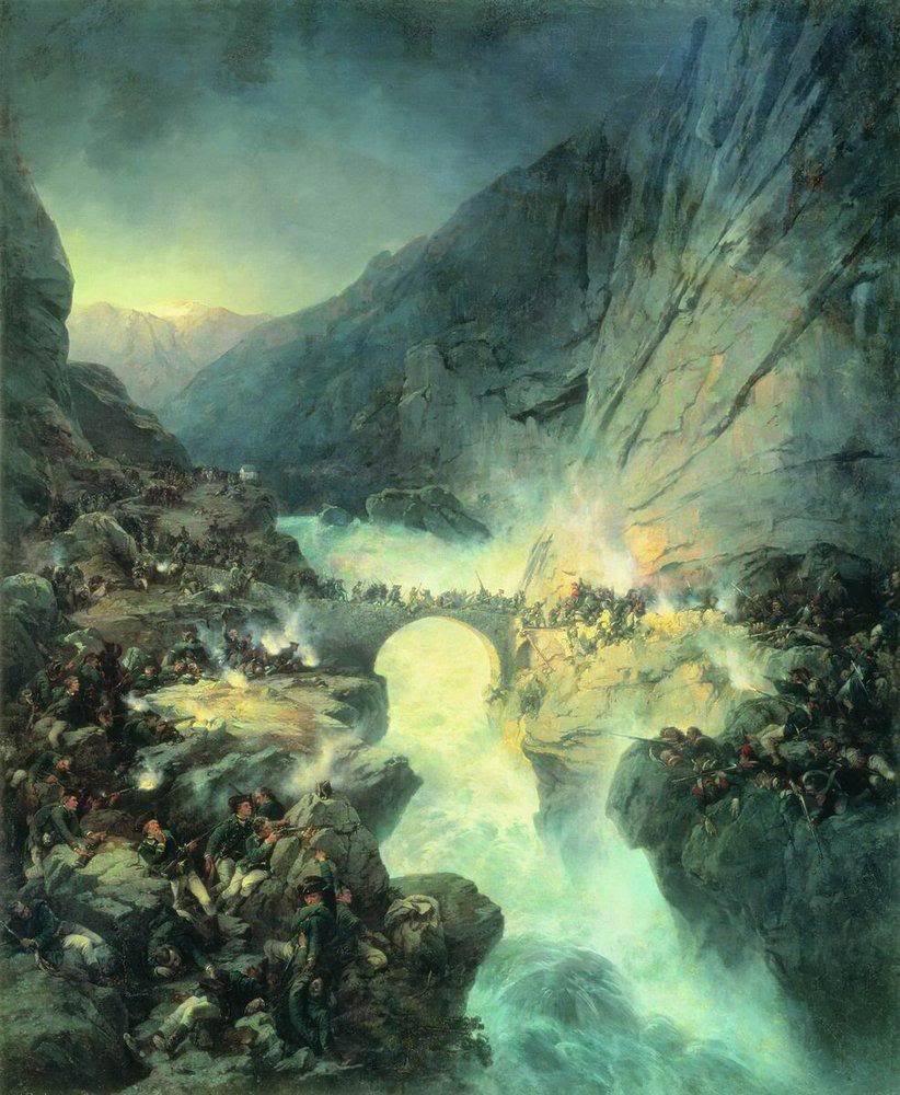 İsviçre'nin Suvorov kampanyası ve harika kahramanları