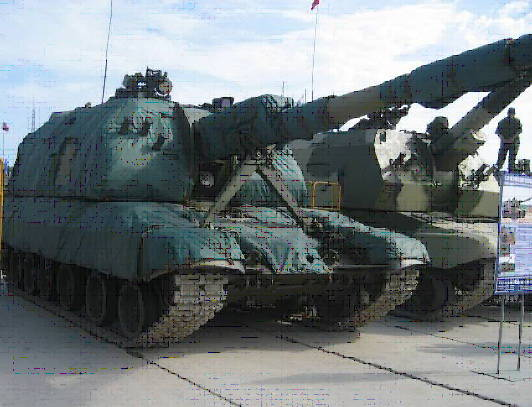"Russian troops will receive a new artillery installation ""Msta-S"""