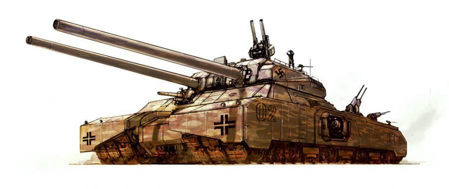 Машины-монстры: Landkreuzer P1000 Ratte и P1500 Monster