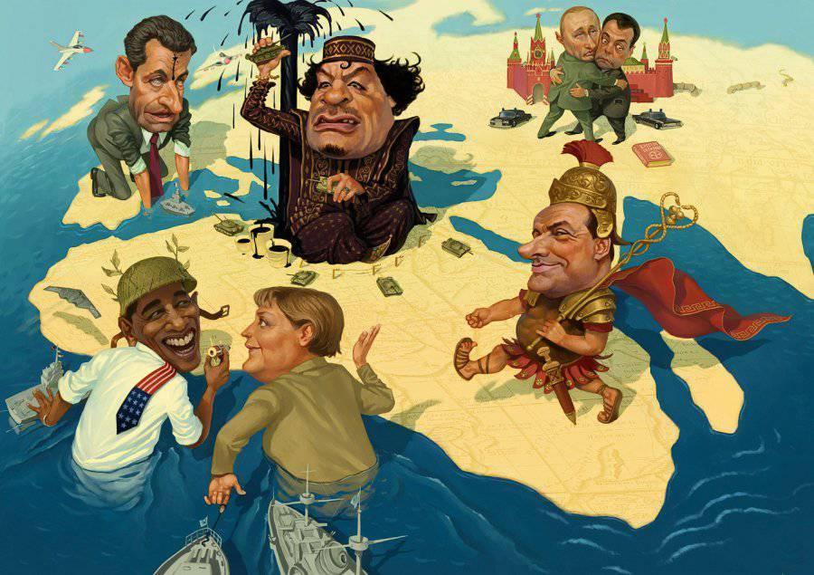 """О """"свободе"""" и """"освободителях"""" на примере Ливии"""