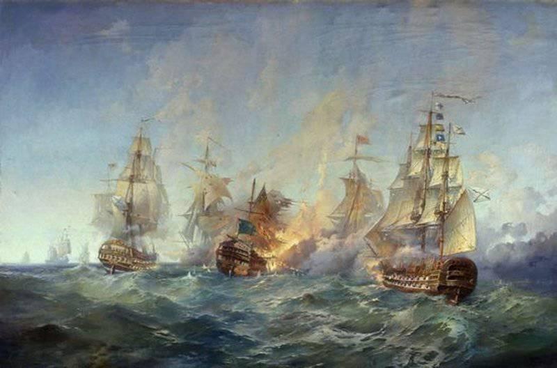 День воинской славы России — День победы русской эскадры у мыса Тендра (1790)
