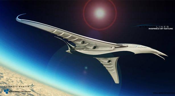 Amerikan tasarımcı yeni bir taslak uçak kuşu sundu