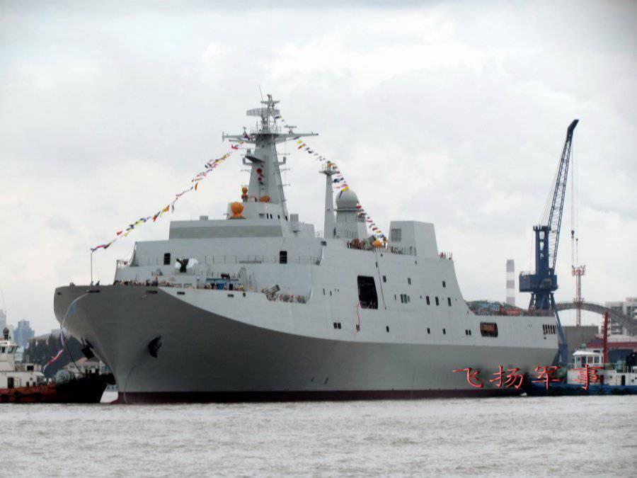 Çin büyük bir deniz gücü haline geldi.