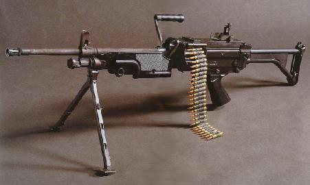 Mitrailleuse FN Minimi (Mini Mitrailleuse)