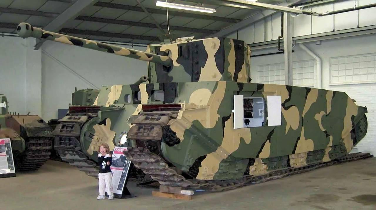 Второй мировой тяжелые танки tog 1 и tog 2