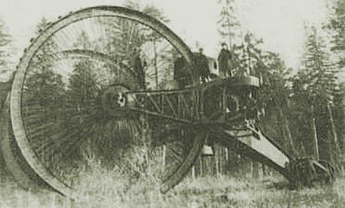 """Tanques incomuns da Rússia e da URSS. """"O tanque do czar"""" do capitão N.N. Lebedenko"""