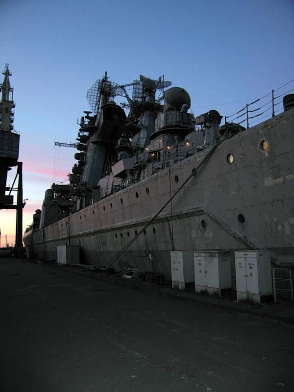 """重型核动力导弹巡洋舰""""基洛夫""""......"""