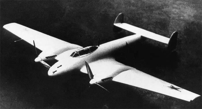 파이터 OKB HAZ - Grushin Gr-1 (IDS). 소련. 1940 연도