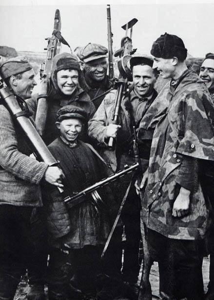 Savaş tarafından ezilen çocukluk