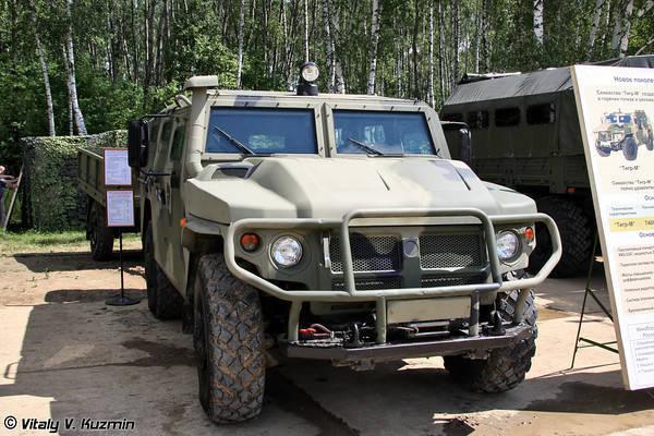 GAZ宣布打算在今年年底为国防部提供Tigr-M