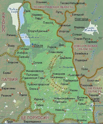 以普斯科夫地区为例论俄罗斯的退化