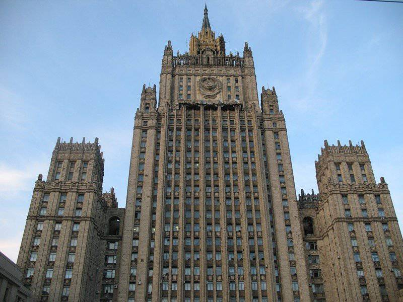 Russian Foreign Ministry accused Lithuanian authorities of indulging fascists and neo-Nazis