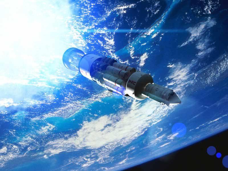 Moteur de fusée nucléaire pour vaisseau spatial russe