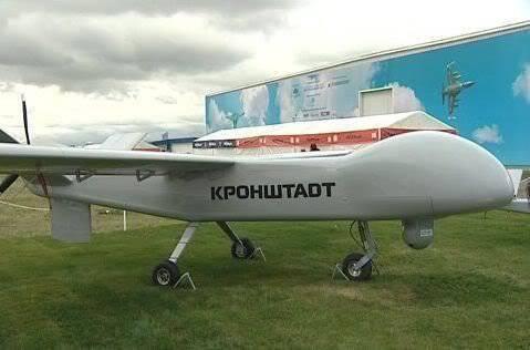 俄罗斯将拥有自己的震动和侦察无人机