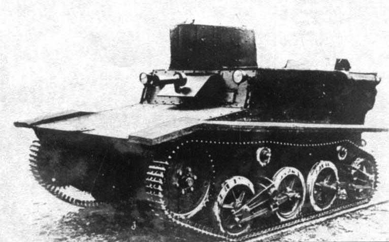 Unusual tanks of Russia and the USSR. Amphibious tank T-41 1932 g