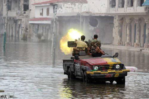 Une autre tempête Sirta a échoué