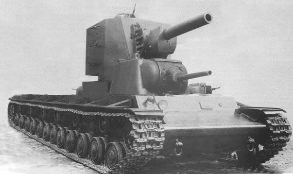 Unusual tanks of Russia and the USSR. T-42 Super Heavy Tank