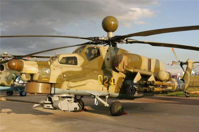 军队拒绝接受最新的直升机MI-28H