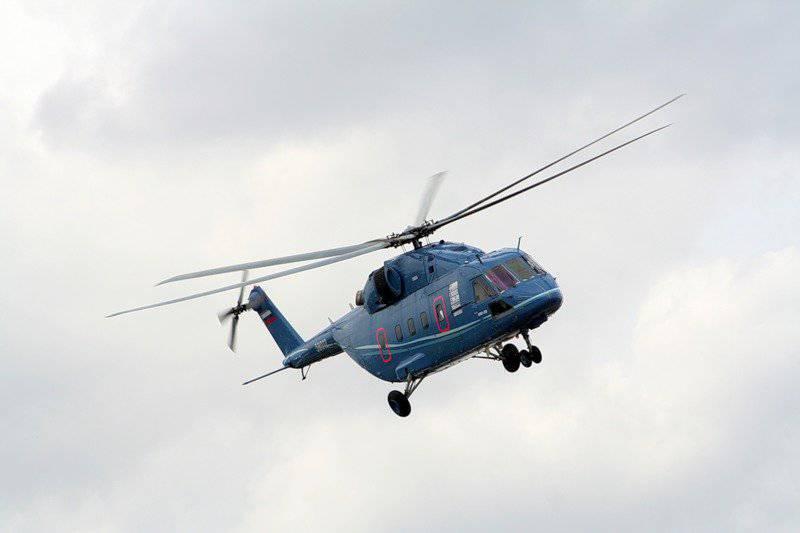 """Hélicoptère """"Trois-huit"""" pour remplacer le """"Huit"""""""