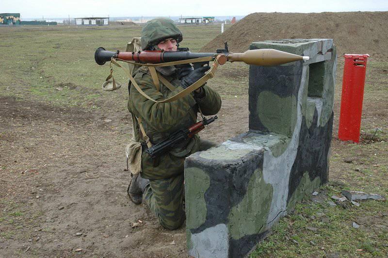 Brigade de carabines motorisées 18-I. Entraînement au combat