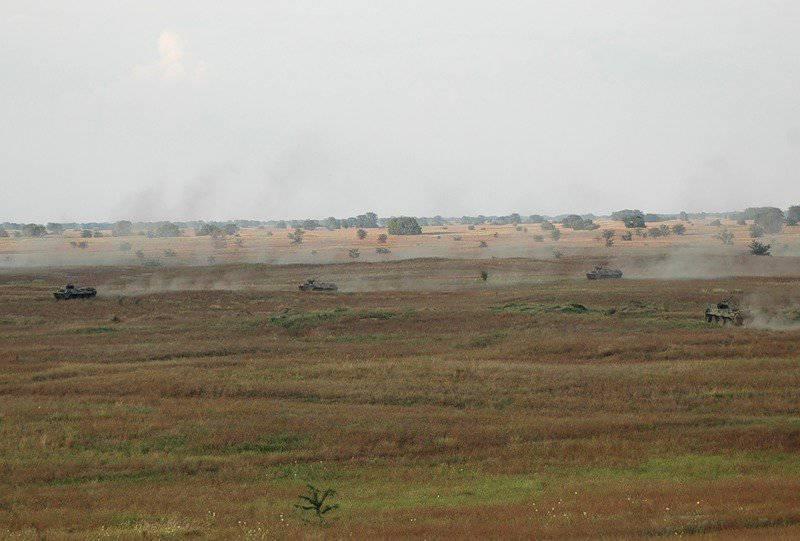 18-я мотострелковая бригада. Боевая подготовка