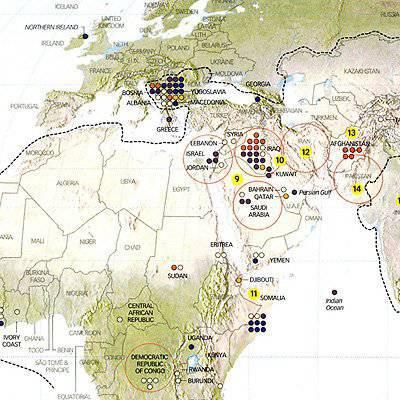 Новая карта Пентагона: почему США обречены постоянно воевать в XXI веке