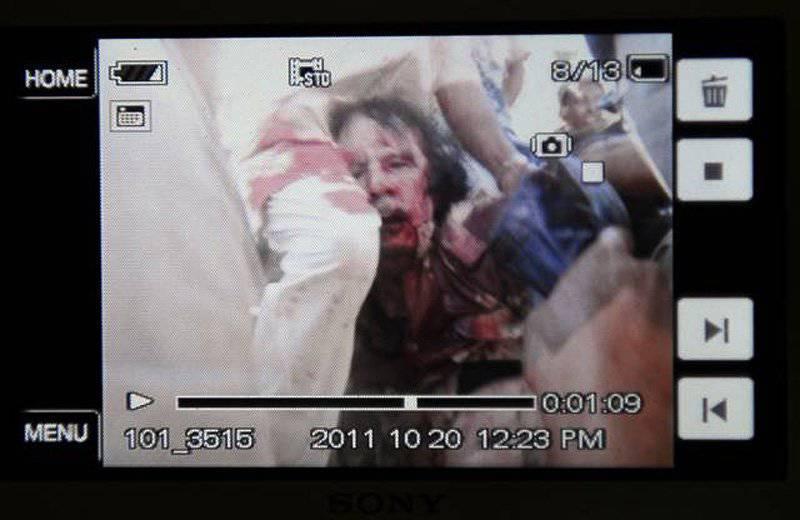 Muammar Gaddafi在Sirta地区被捕或被杀,相互冲突的信息到来