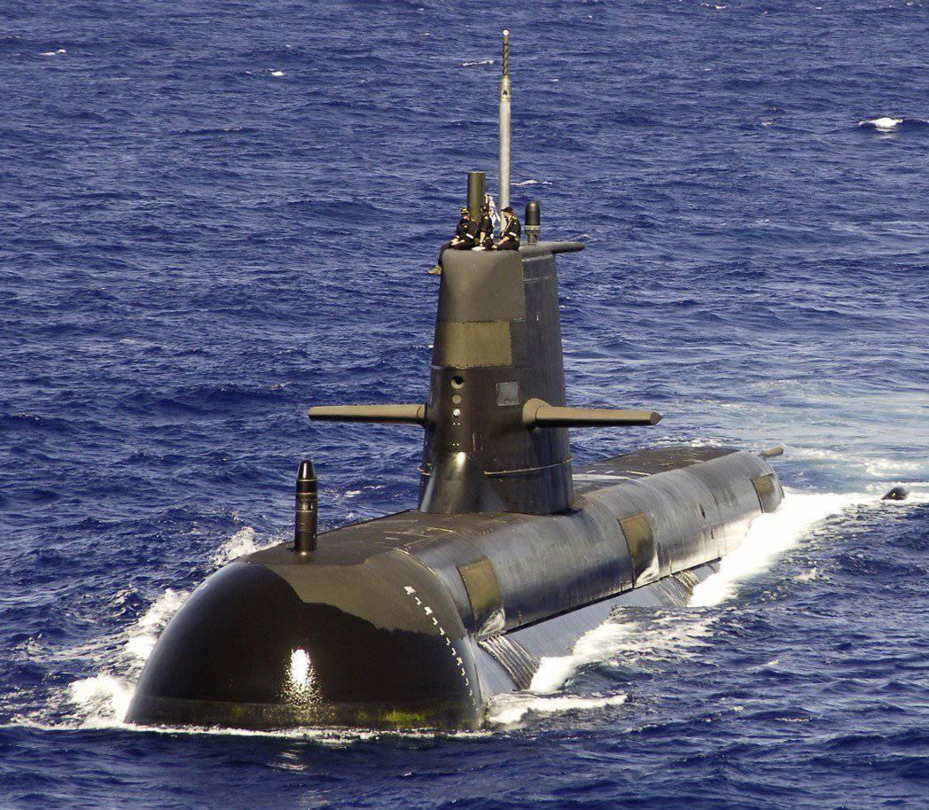 Дорогой подводный флот австралии