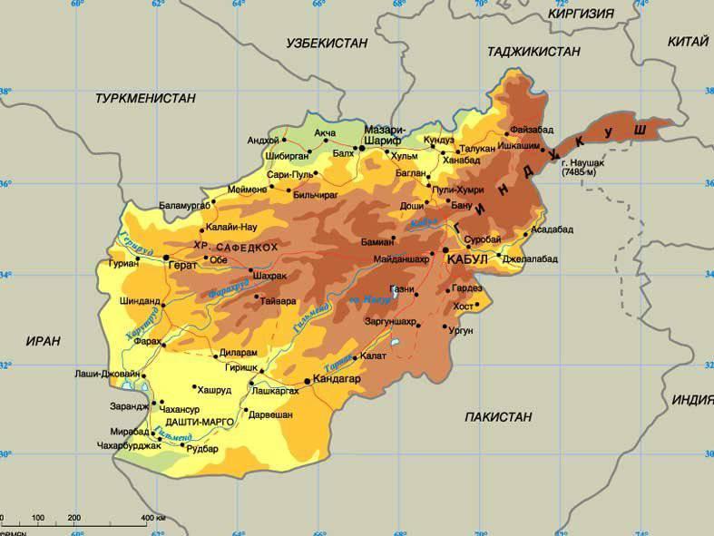喀布尔声称所有邻国的边境土地