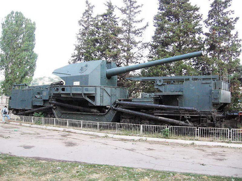 苏联的铁路炮兵
