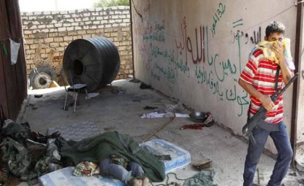 利比亚叛乱分子被指控大规模杀害战俘