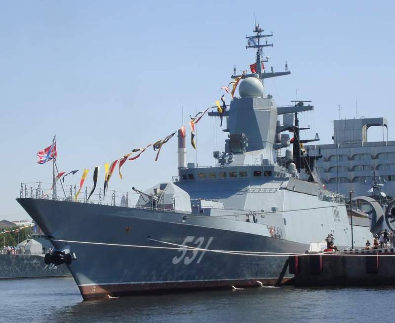 "Multipurpose Corvette ""savvy"" was put into operation the Baltic Fleet"