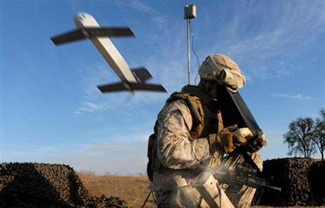 From now on, American soldiers will receive additional weapons: unmanned aircraft in army shoulder backpacks
