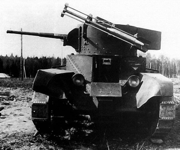 Unusual tanks of Russia and the USSR. The first USSR missile tanks