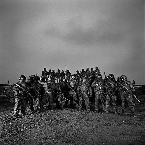 """O projeto de Dmitry Belyakov """"Veteranos das forças especiais do país"""""""