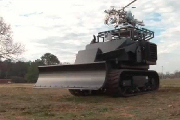 Двухтонный мини танк mesa robotics acer