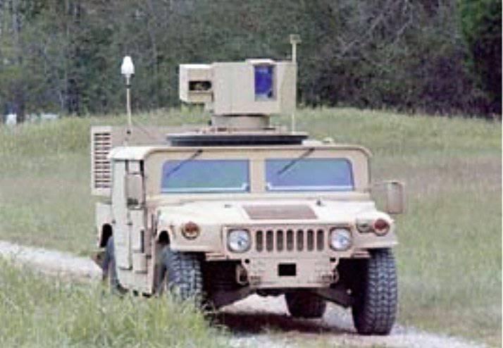 Le système ZEUS avec un laser empêchera toute mine