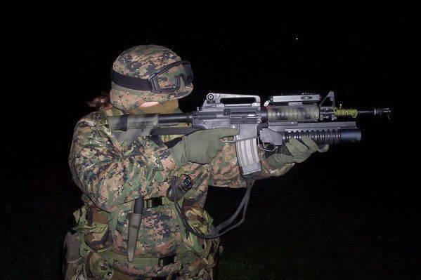 ABD Ordusu askerinin bireysel savaş ekipmanları