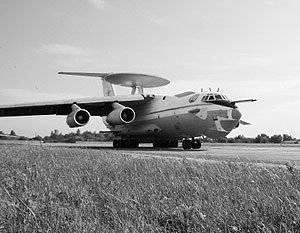 空军接收了现代化的雷达综合体A-50U