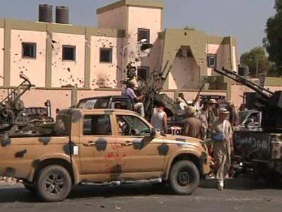 Сторонники Каддафи подняли восстание