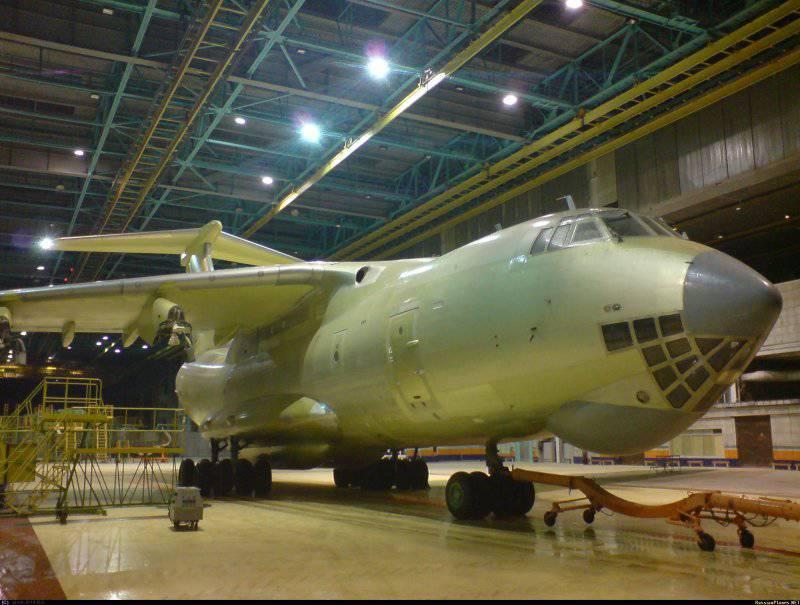 Lo stato acquisirà cento aerei da trasporto IL-476