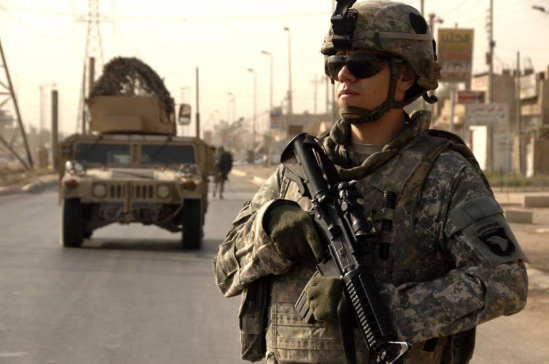 Индивидуальное боевое снаряжение солдата Сухопутных войск США