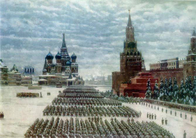 In Russia, recalled the heroes of 1941,